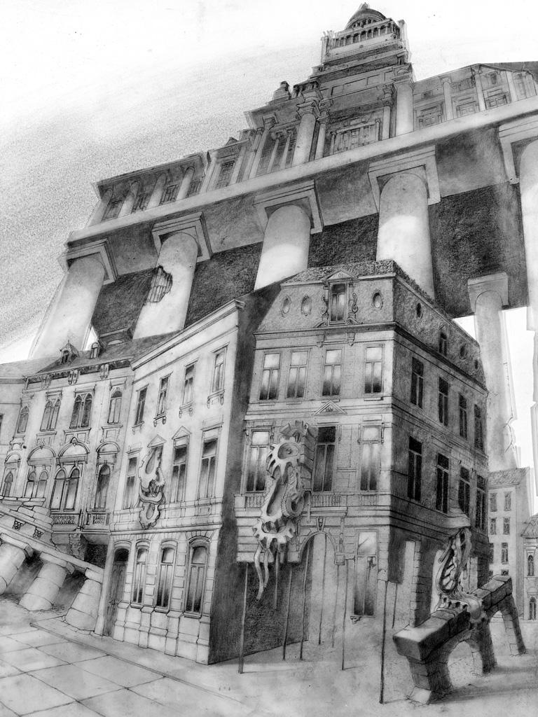 Huberty & Breyne Gallery –Exposition Bruxelles – Raoul SERVAIS – Taxandria